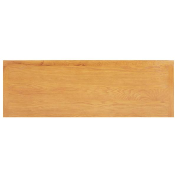 Schminktisch 118x40x77 cm Eiche Massivholz und MDF