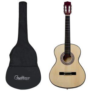 Klassikgitarre für Anfänger mit Tasche 3/4 36″