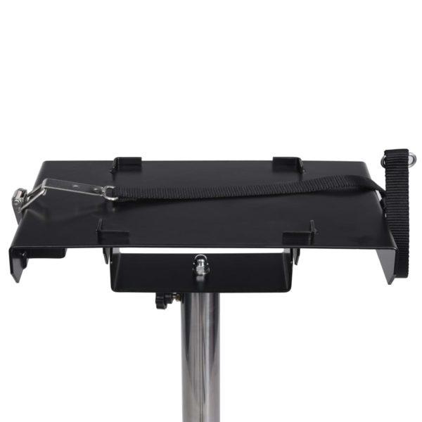 Haustier-Föhn mit Doppelmotor Ständer Schwarz Kunststoff Stahl