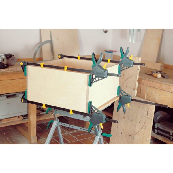 wolfcraft Einhandzwinge EHZ Pro 100-450 3032000