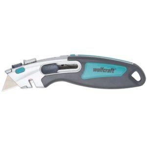 wolfcraft Dual-Sicherheits-Trapetzklingen-Messer