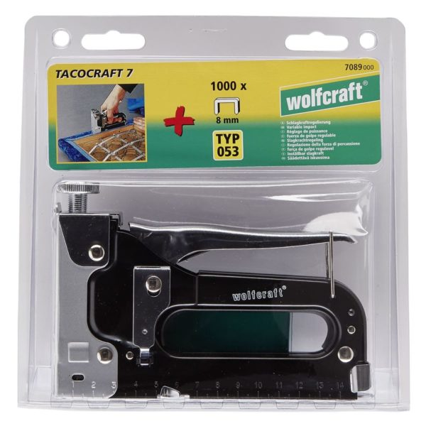 wolfcraft Tacker-Set Tacocraft 7 7089000