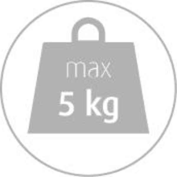 Medisana Digitale Küchenwaage KS 250 5 kg Schwarz und Silbern
