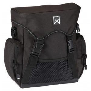 Willex Fahrradtasche 10 L Schwarz 13201