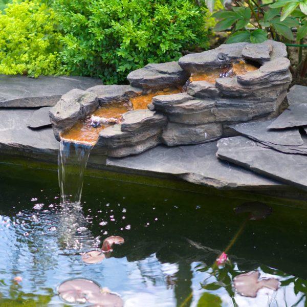 Ubbink Gartenwasserfall CAZORLA Linksläufig