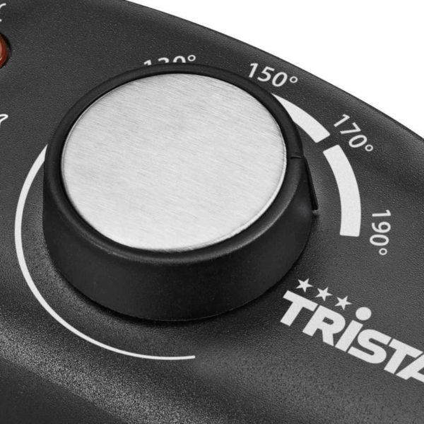 Tristar Fritteuse 2000 W 3 L Edelstahl Silbern