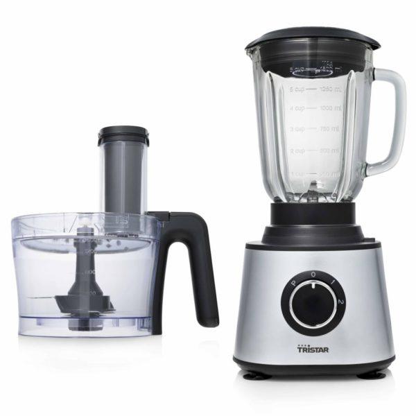 Tristar Küchenmaschine und Mixer 600 W 3 L Silbern