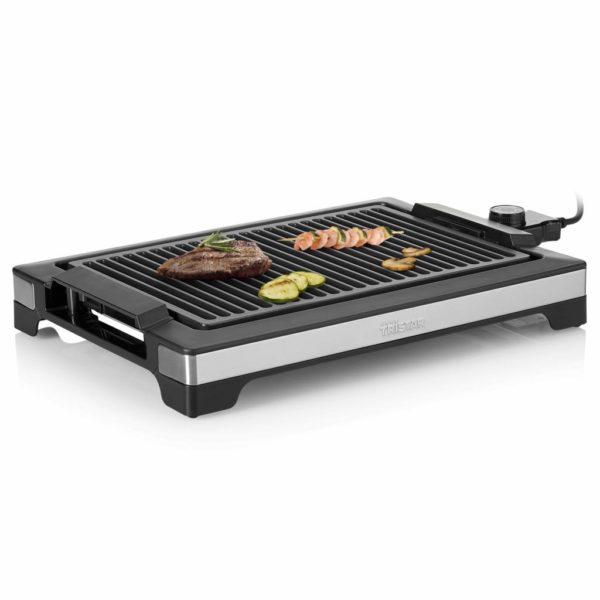 Tristar Grillrost und Barbecue-Grill 2000 W 37 x 25 cm Schwarz
