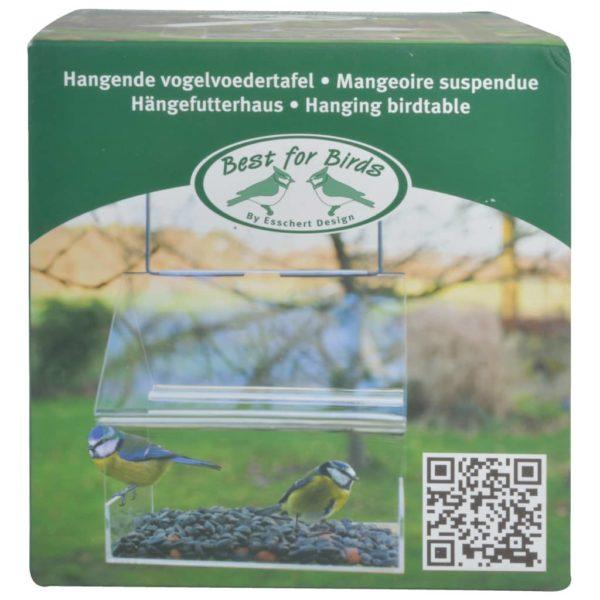 Esschert Design Vogelfutterhaus Hängend Acryl