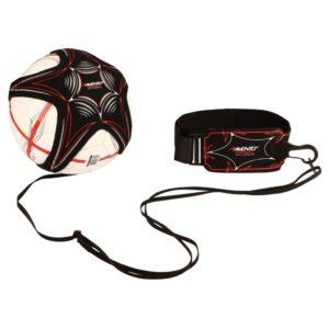 Avento Fußball-Trainingsgerät Schwarz und Rot