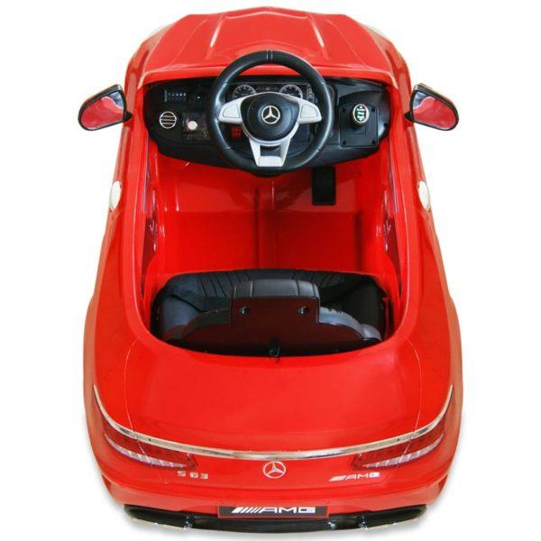 Elektrisches Kinder-Aufsitzauto Mercedes Benz AMG S63 Rot 12 V