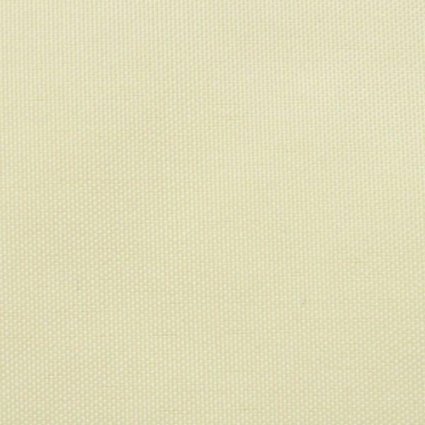 Sonnensegel Oxfordgewebe Quadratisch 2 x 2 m Creme