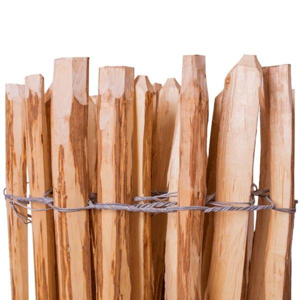 Staketenzaun Haselnussholz 150 x 250 cm