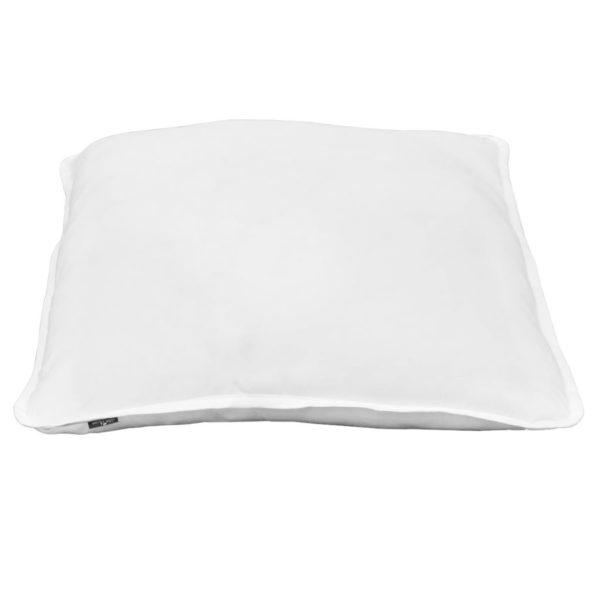Kissen 2 Stück 80 x 80 cm Weiß