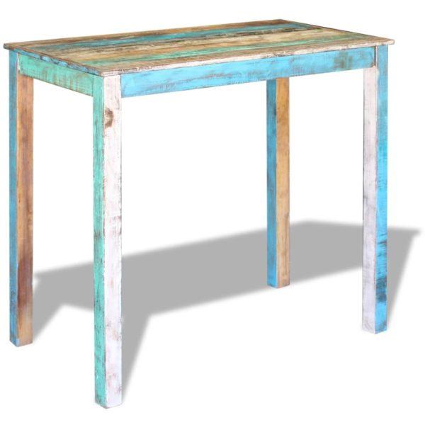 Bartisch Recyceltes Massivholz 115x60x107 cm