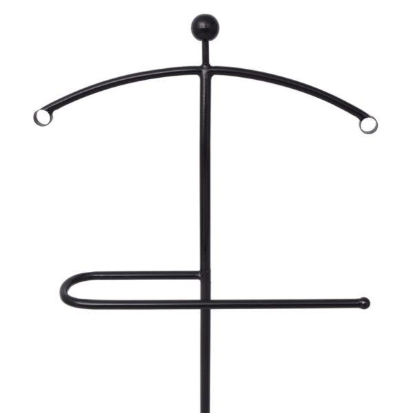 Anzugständer 49x41x108 cm Schwarz
