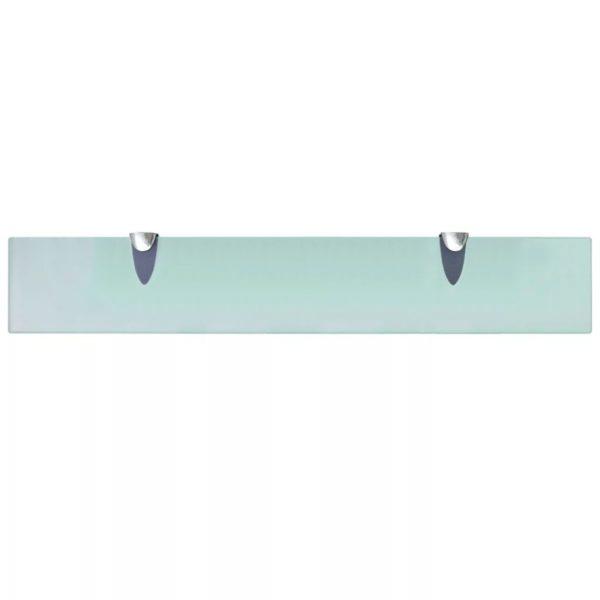Schwebendes Regal Glas 60×10 cm 8 mm