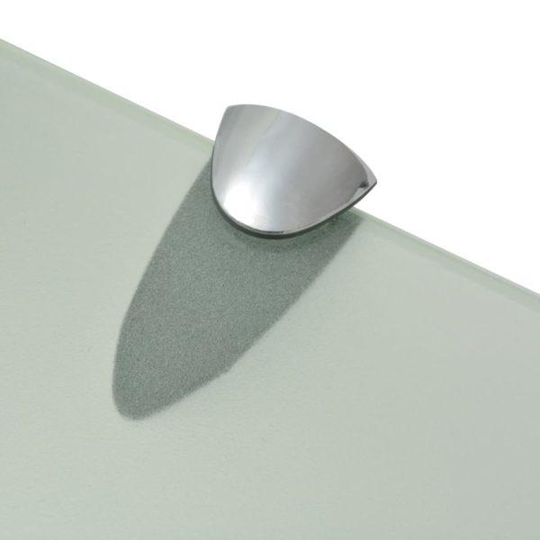 Schwebendes Regal Glas 50×10 cm 8 mm