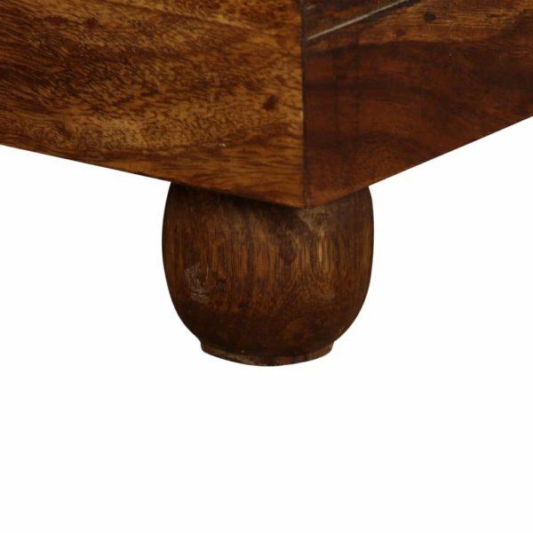 Truhe Massivholz 90×50×35 cm