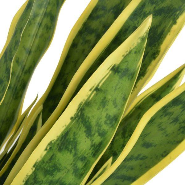Künstliche Sansevieria Bogenhanf mit Topf 90 cm Grün