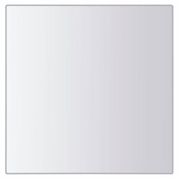 8-tlg. Spiegelfliesen-Set Verschiedene Formen Glas