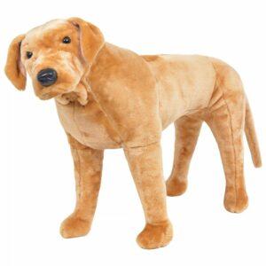 Plüschtier Stehend Labrador Hellbraun XXL