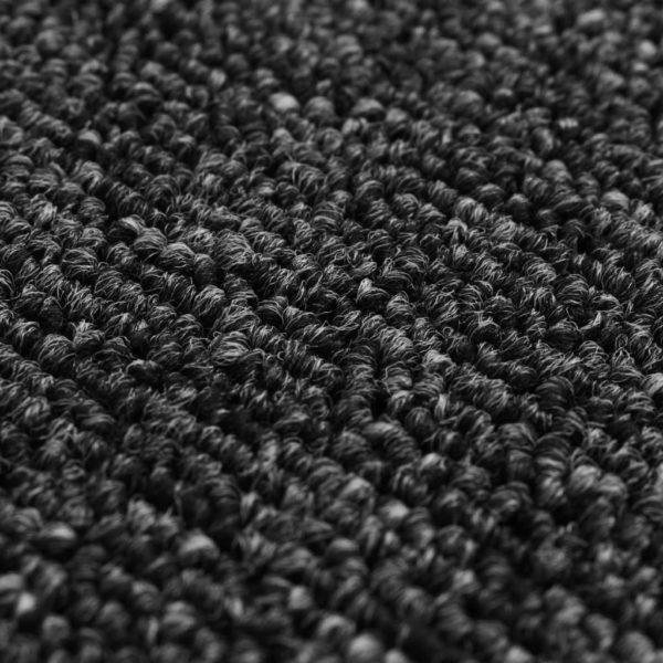 Teppich Getuftet 80 x 150 cm Anthrazit