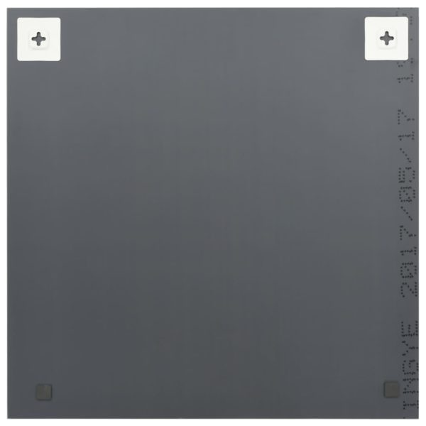 Wandspiegel 40 x 40 cm Quadratisch Glas