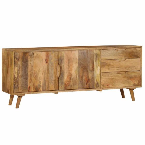 Sideboard Mangoholz Massiv 170x40x70 cm