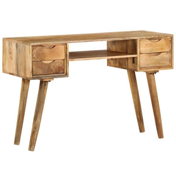 Schreibtisch Massivholz Mango 115×47×76 cm