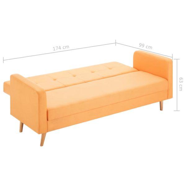Sofa Stoff Orange