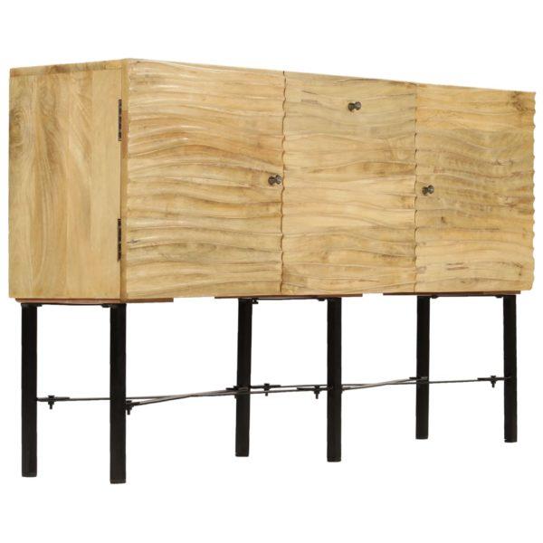 Sideboard Mangoholz Massiv 118 x 30 x 70 cm