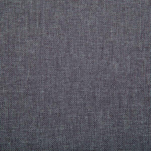2-Sitzer-Sofa Stoffbezug 115 x 60 x 67 cm Dunkelgrau