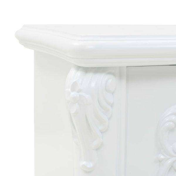 Couchtisch Weiß 115 x 35 x 45 cm