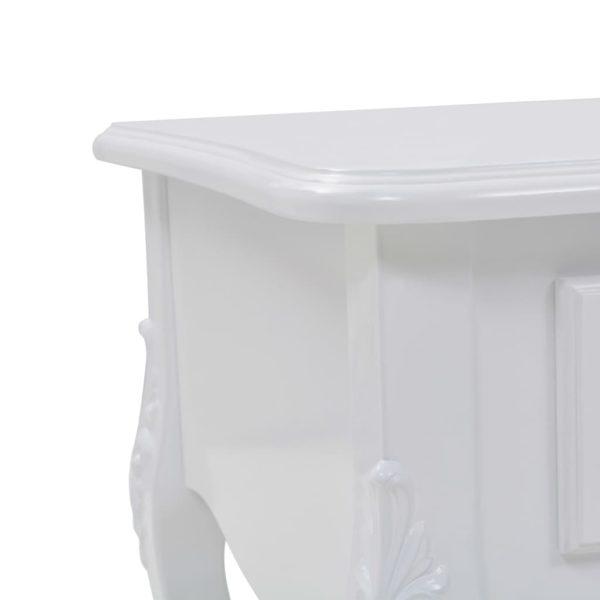 Couchtisch Weiß 100 x 50 x 46 cm