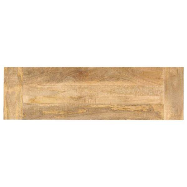 Konsolentisch 118 x 35 x 76 cm Mangoholz Massiv