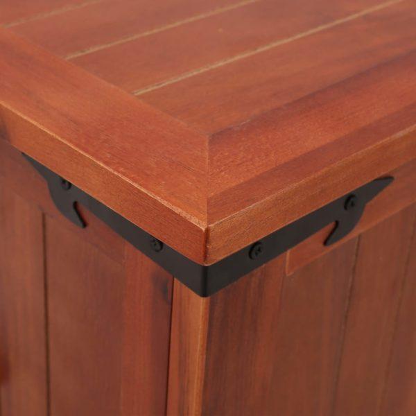 Aufbewahrungstruhe 60 x 25 x 22 cm Akazien-Massivholz