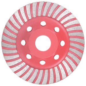 Diamantschleifscheibe mit Turbo 115 mm