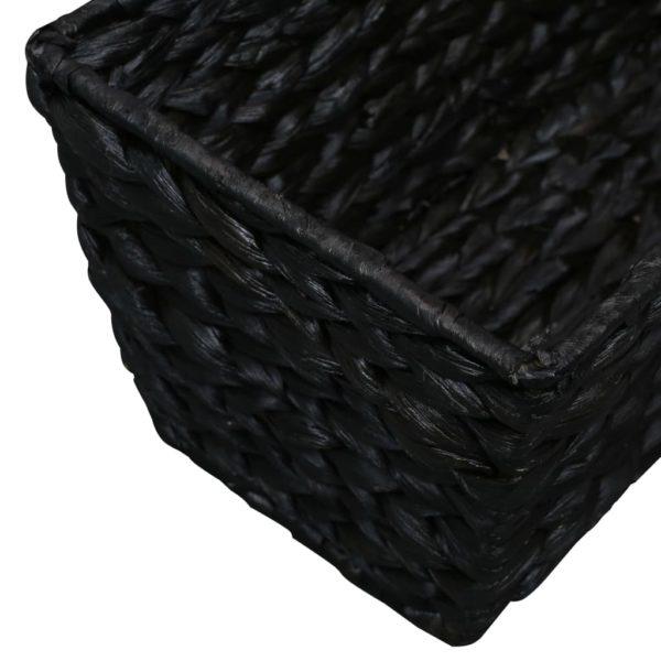 Pflanzkübel 2 Stk. Wasserhyazinthe Schwarz