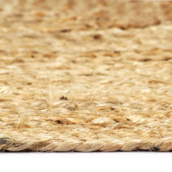 Teppich Handgefertigt Jute Natur 160×230 cm
