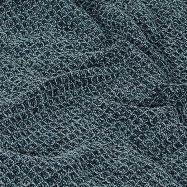 Überwurf Baumwolle 160×210 cm Indigoblau