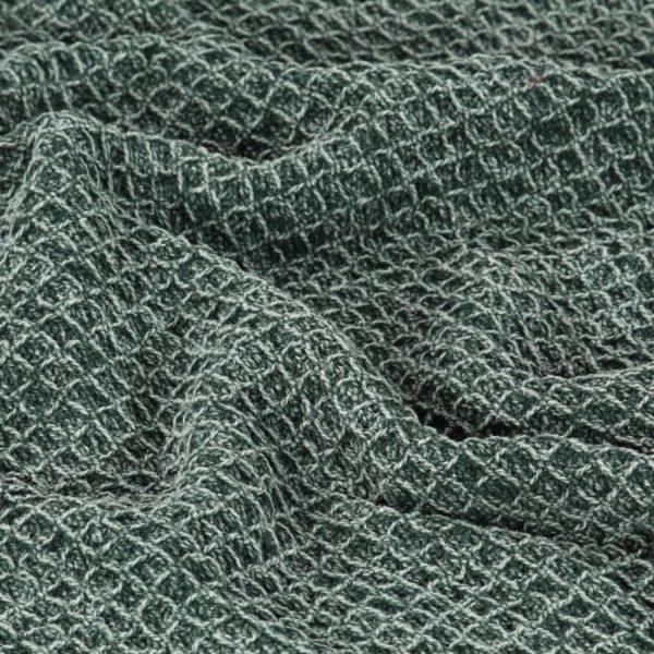 Überwurf Baumwolle 160×210 cm Dunkelgrün