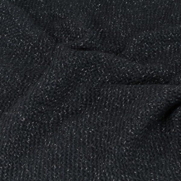 Überwurf Lurex 160×210 cm Anthrazit