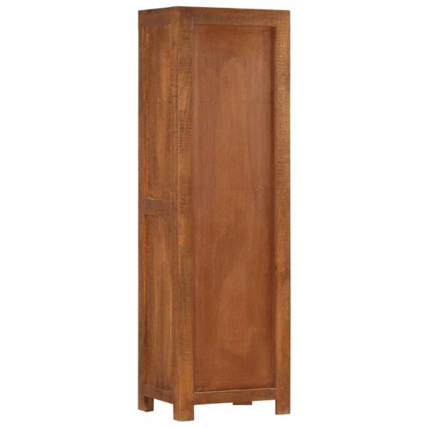 Highboard mit 3 Schubladen 40 x 30 x 130 cm Massivholz Mango