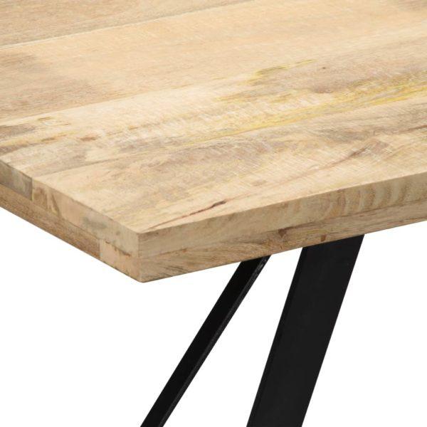 Esstisch 140 x 80 x 76 cm Mango-Massivholz