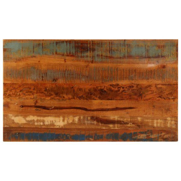 Couchtisch mit Ablage 100 x 60 x 35 cm Recyceltes Massivholz
