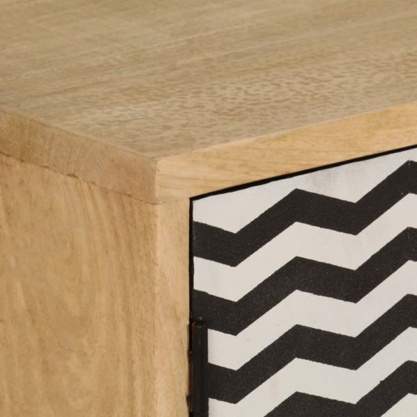 Sideboard 120 x 30 x 75 cm Massivholz Mango