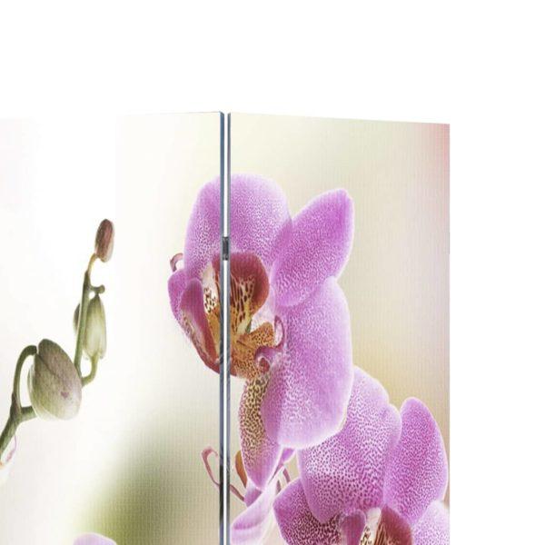 Raumteiler klappbar 120 x 170 cm Blume