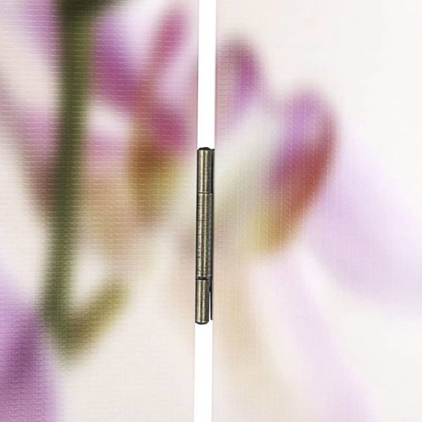 Raumteiler klappbar 160 x 170 cm Blume