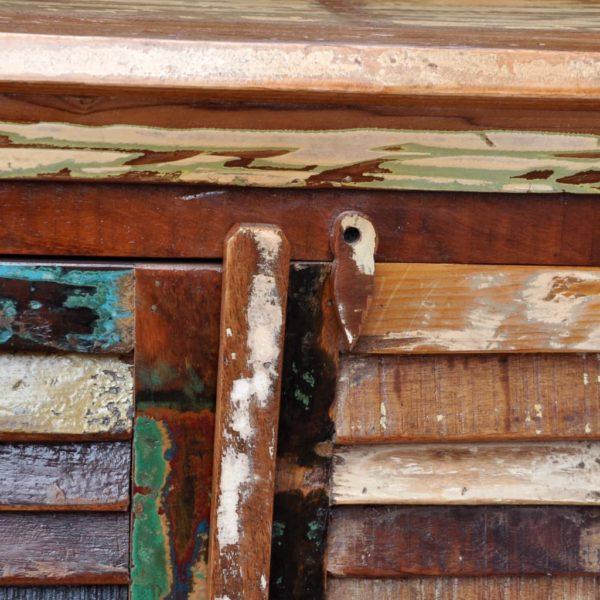 Anrichte Altholz Massivholz mit 4 Türen